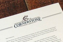 Cornerstone corporate branding-complete set